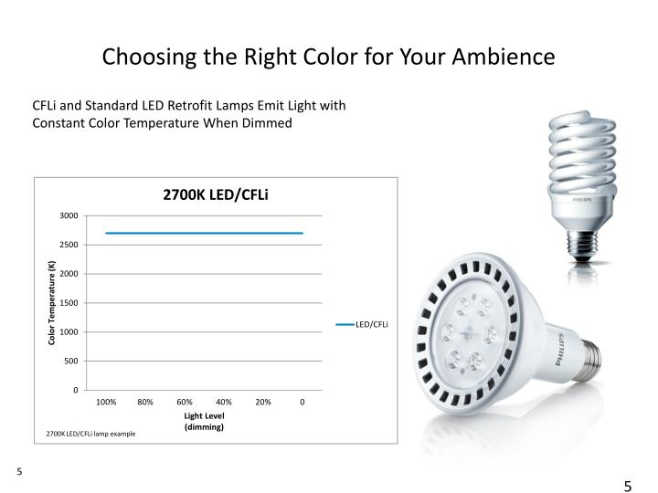 Choosing the Right Color for Your Ambience
