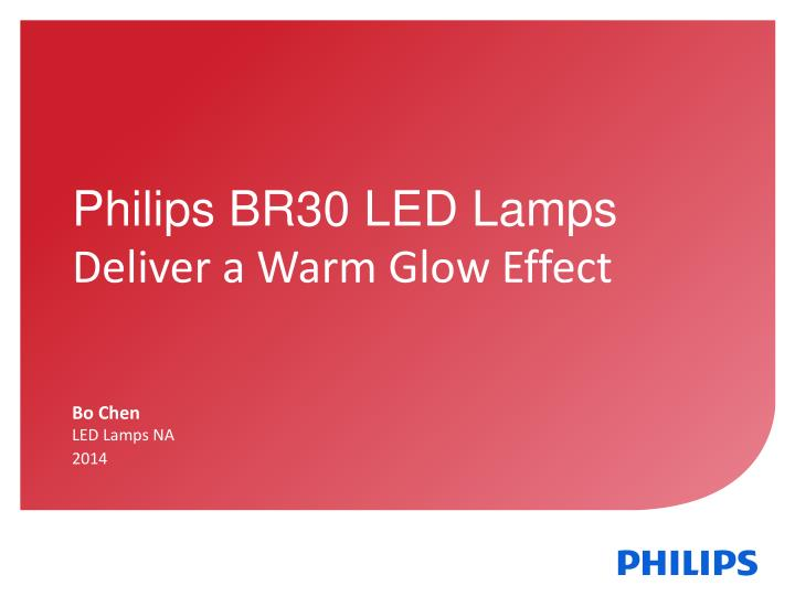 Philips BR30 LED Lamps