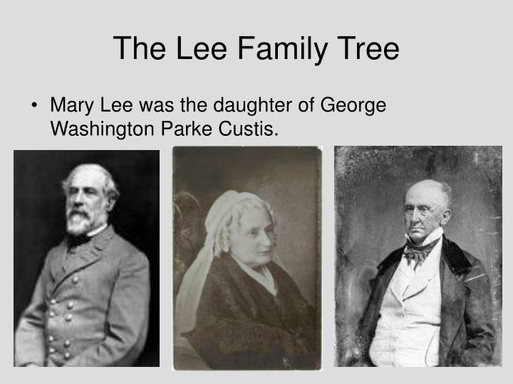 The lee family tree1