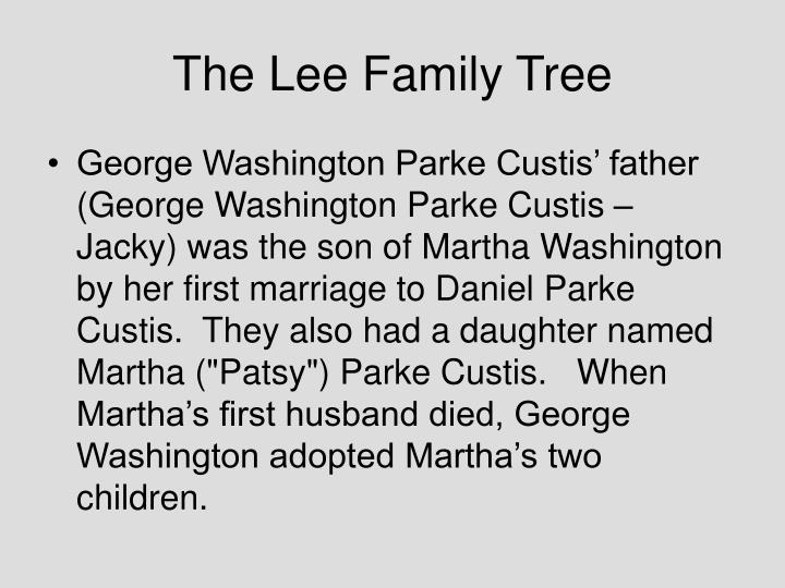 The Lee Family Tree