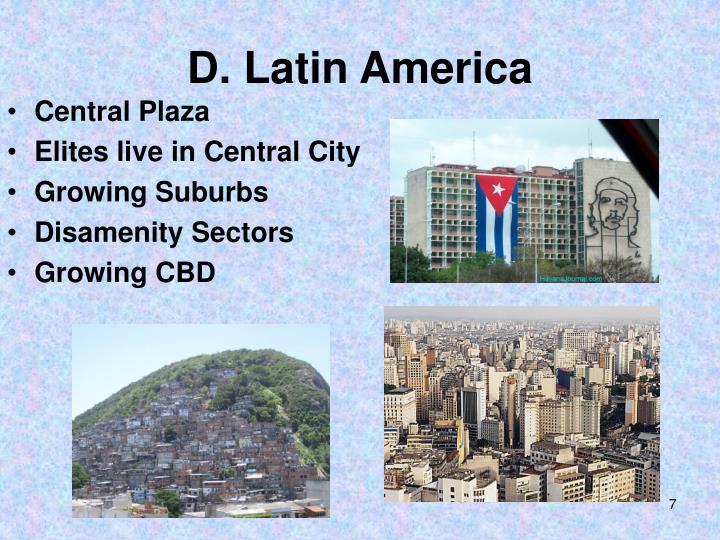 D. Latin America