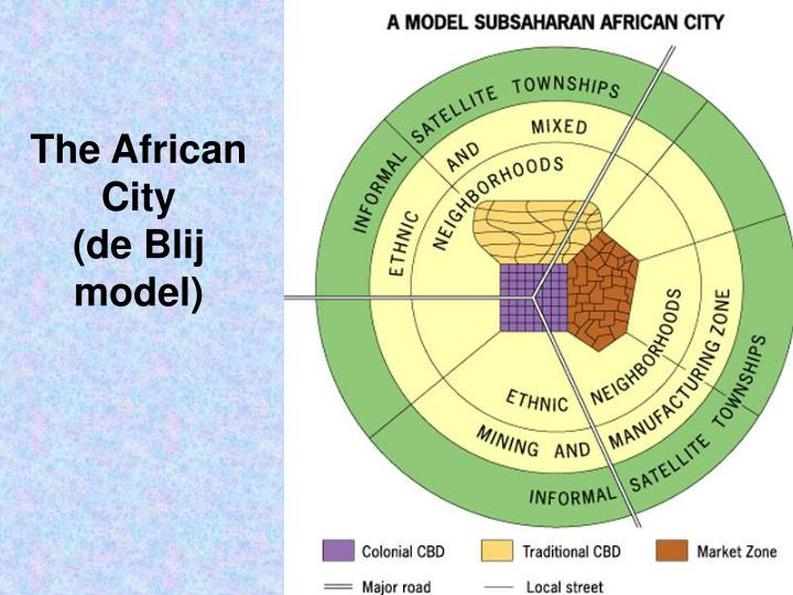 The African City