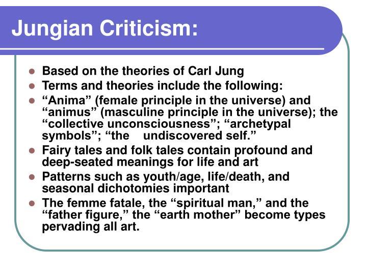 Jungian Criticism: