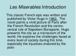 les miserables introduction