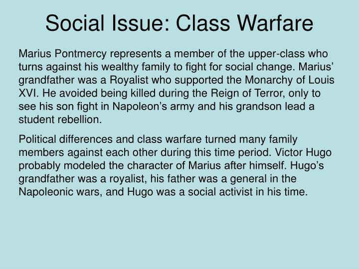 Social Issue: Class Warfare