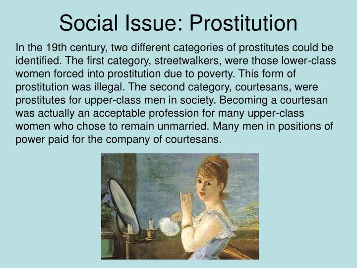 Social Issue: Prostitution