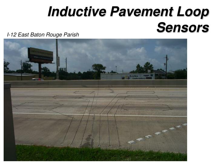Inductive Pavement Loop Sensors