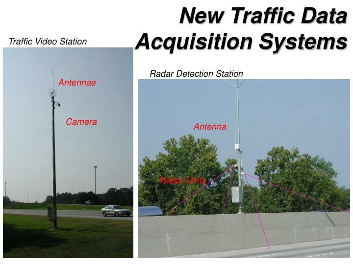 New Traffic Data