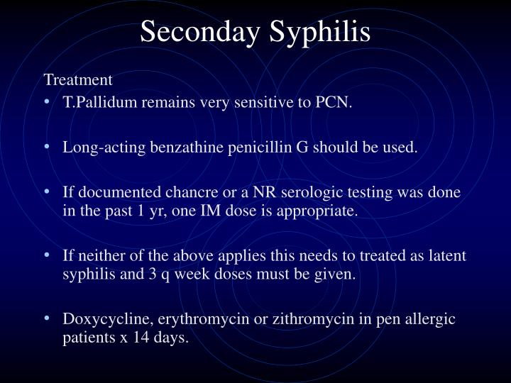 Seconday Syphilis