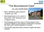 the bournewood case