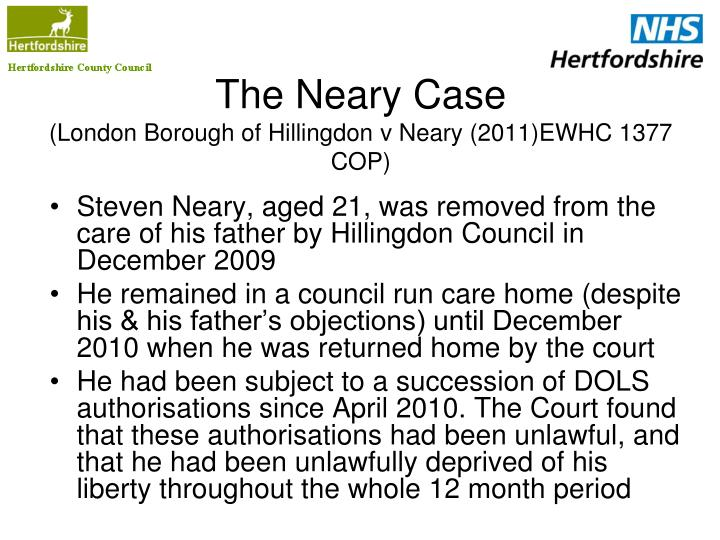 The Neary Case