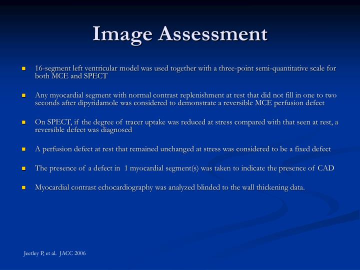 Image Assessment