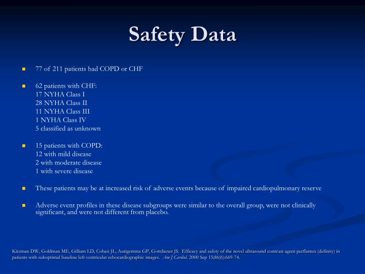 Safety Data