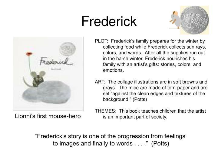 Ppt leo lionni powerpoint presentation id 6690765 for Frederick leo lionni