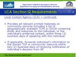 lca section q requirements2