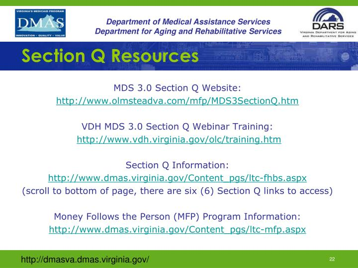 Section Q Resources