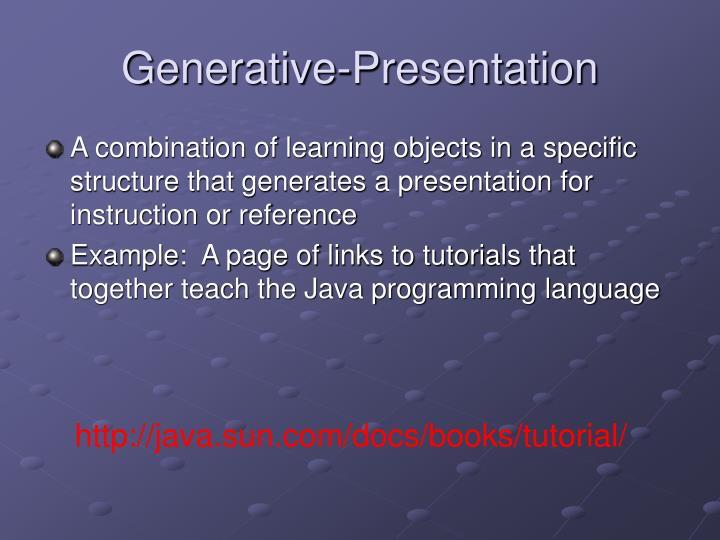 Generative-Presentation