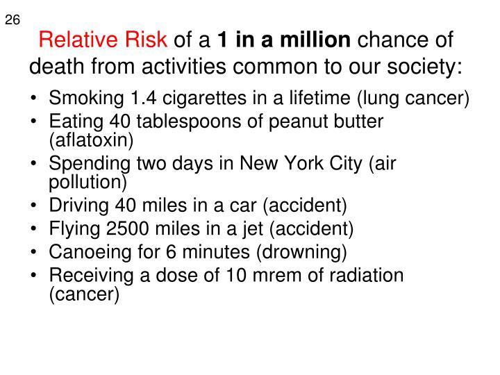 Relative Risk
