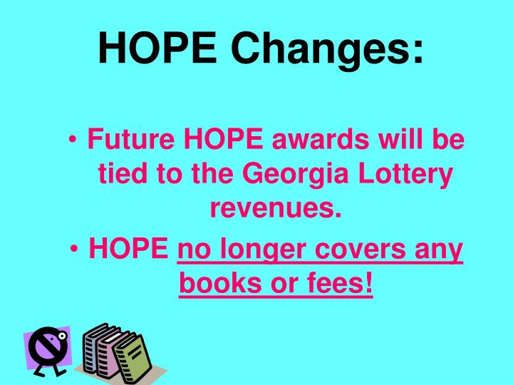 HOPE Changes: