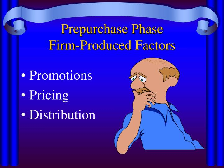 Prepurchase Phase