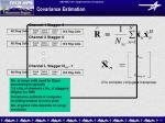 covariance estimation1