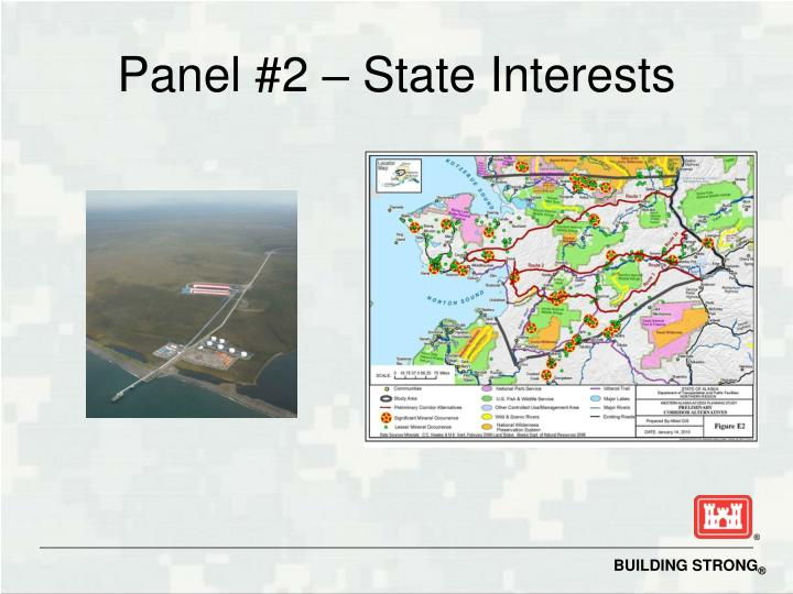 Panel #2 – State Interests