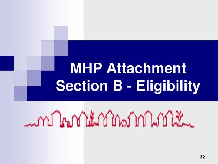 MHP Attachment