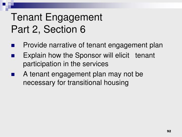Tenant Engagement