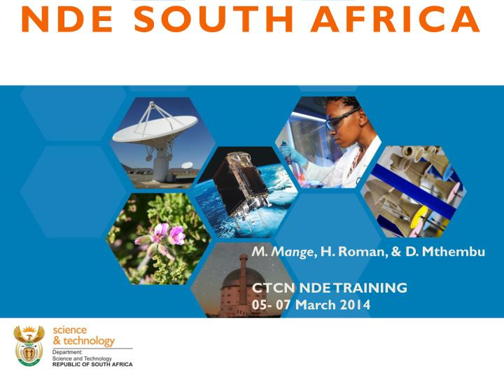 NDE SOUTH AFRICA