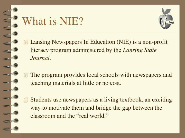 What is NIE?