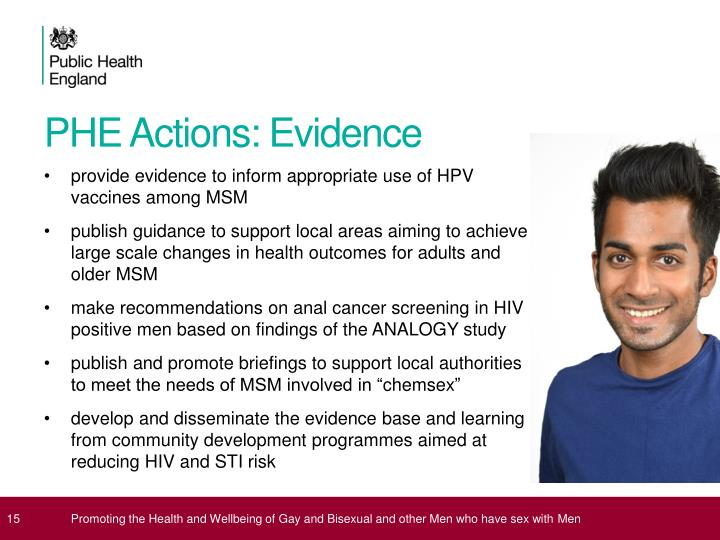 PHE Actions: Evidence