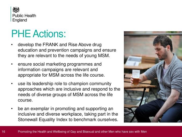 PHE Actions: