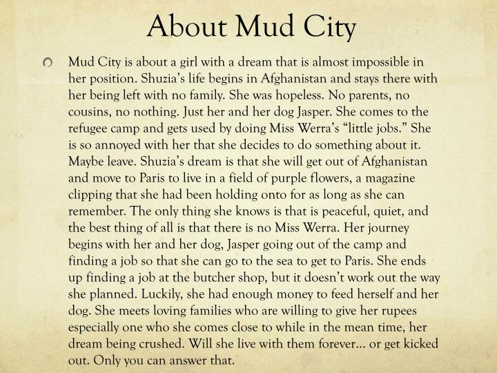About Mud City