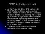 ngo activities in haiti5