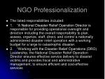 ngo professionalization17