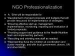 ngo professionalization29