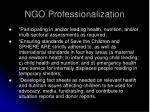 ngo professionalization30