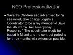 ngo professionalization33