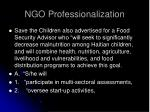 ngo professionalization36