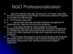 ngo professionalization39