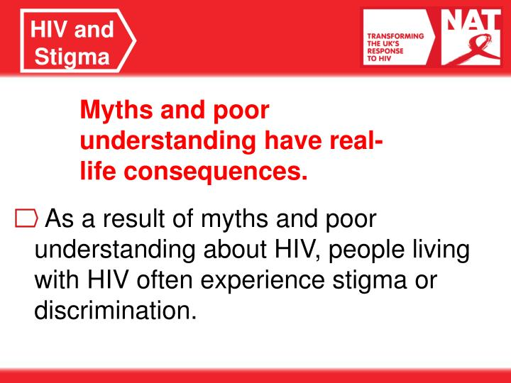HIV and Stigma