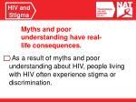 hiv and stigma