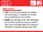 what do we know about hiv