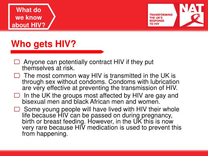 What do we know about HIV?