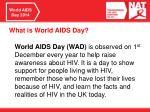 world aids day 2014