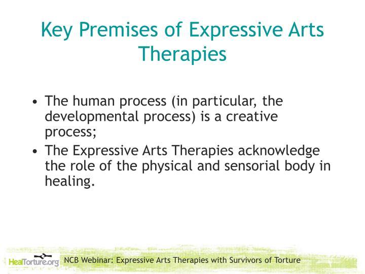 Key Premises of Expressive Arts Therapies