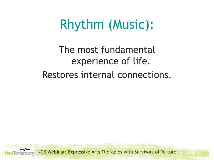 Rhythm (Music):