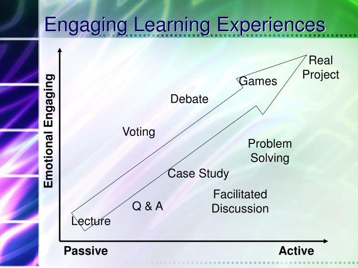 Engaging Learning Experiences