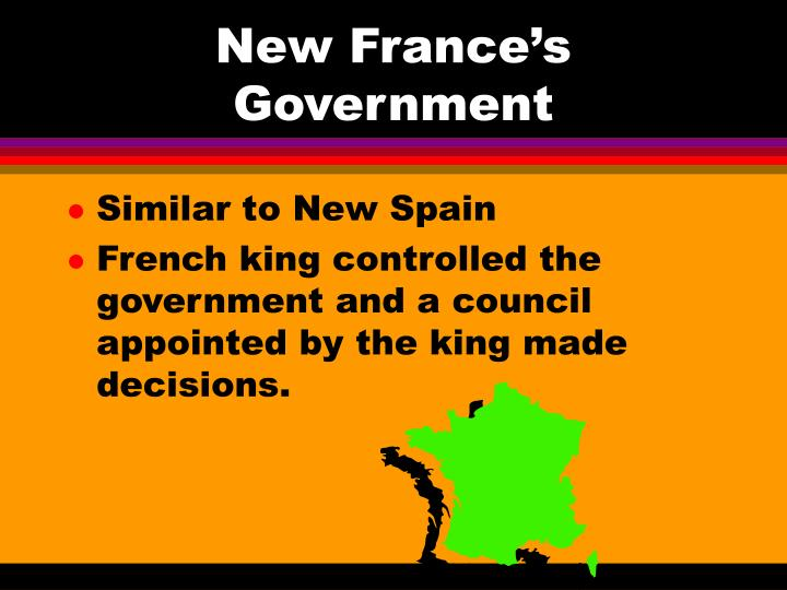 New France's Government