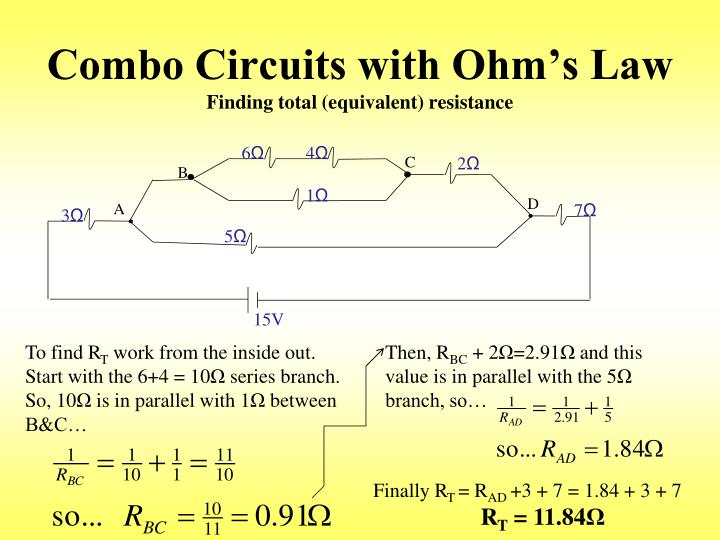 Combo Circuits with Ohm's Law